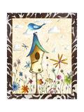 Bird House 1 Giclee Print by Megan Aroon Duncanson