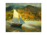 Autumn Sail Giclee Print by Steve Henderson