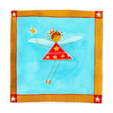 A Fairy Holding a Wand Giclee Print