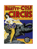 Beatty Circus Giclee Print