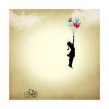 Balloon Giclee Print by Mark Ashkenazi