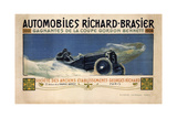 Auto Richard Brasier Giclee Print