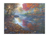 Autumn Glow Giclee Print by Bruce Dumas