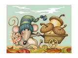 Barrow Mouse Giclee Print by Margaret Wilson