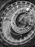 Astronomic Watch Prague 11 Fotografisk tryk af Moises Levy