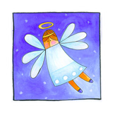 A Snow Angel Wydruk giclee