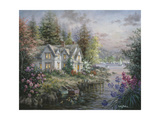 Bay's Landing Giclee Print by Nicky Boehme