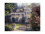 A Canine Sanctuary Giclee Print by Nicky Boehme