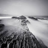 Zumaia Photographic Print by Nina Papiorek