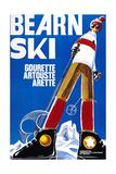 Bearn Ski Giclee Print