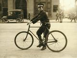 A Typical Birmingham, Alabama Messenger Photographic Print