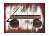 Wagon Giclee Print by Karen Williams