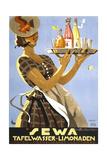 """Sewa"" Tafelwasser-Limonaden Giclee Print"