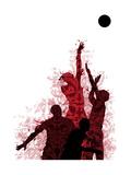 Basketball Giclee Print by Teofilo Olivieri