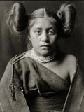 A Tewa Girl Photographic Print