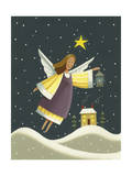 Angel with a Lantern Giclee Print by Margaret Wilson