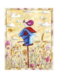 Bird House 4 Giclee Print by Megan Aroon Duncanson