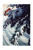 Lumière hivernale Reproduction procédé giclée par Kevin Dodds