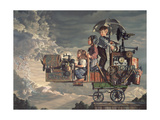 A Invitation to Flight Giclee Print by Bob Byerley