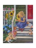 A Summer Kiss Giclée-Druck von Tricia Reilly-Matthews