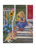 A Summer Kiss Giclee Print by Tricia Reilly-Matthews