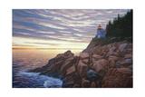Bass Harbor Light Reproduction procédé giclée par Bruce Dumas