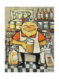 Basement Brewer Giclee Print by Tim Nyberg