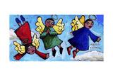 Angels in Training Wydruk giclee autor Sara Catena