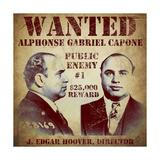 Al Capone Wanted Giclee Print