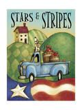 Americana Giclee Print by Margaret Wilson