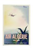 Air Algerie Giclée-tryk