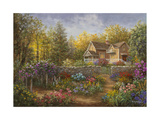 A Pathway of Color Giclee Print by Nicky Boehme