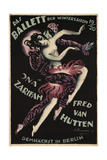 Balletwinter Seas Germany, 1919 Giclee Print