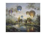 Balloon Glow Wydruk giclee autor Nicky Boehme