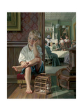 And at Just the Right Moment Giclée-Druck von Bob Byerley