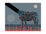 Alien Animal Giclee Print by Teofilo Olivieri