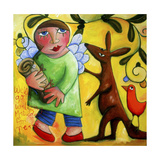 Waltzing Matilda for Peace Giclee Print by Sara Catena