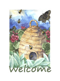 Beehive Welcome Giclee Print by Melinda Hipsher