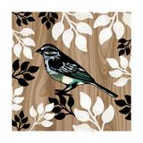 Bird Patchwork I Giclee Print by Erin Clark