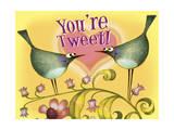 Bird Valentine Giclee Print by Margaret Wilson