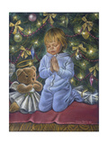 A Christmas Prayer Giclee Print by Tricia Reilly-Matthews