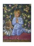 A Christmas Prayer Stampa giclée di Tricia Reilly-Matthews