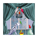 Bird Dogs VIII Stampa giclée di David Sheskin