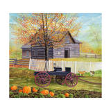 A Day on the Farm Reproduction procédé giclée par Kevin Dodds