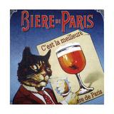 Biere de Paris Impressão giclée