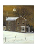 Amber Moon Giclee Print by Jerry Cable