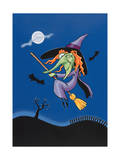 Witch Giclee Print by Margaret Wilson