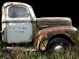 1947 Ford 1 Ton Fotodruck von Larry Hunter