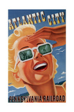 Atlantic City Sunglasses Giclee Print