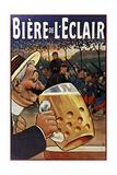 Biére de L'Eclair Giclée-tryk